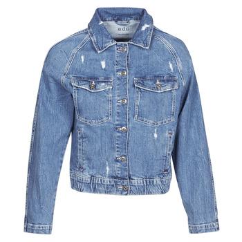 Textiel Dames Spijker jassen Esprit ESPRILA Blauw / Medium