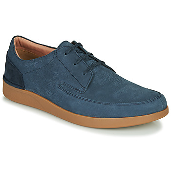 Schoenen Heren Derby Clarks OAKLAND CRAFT Marine