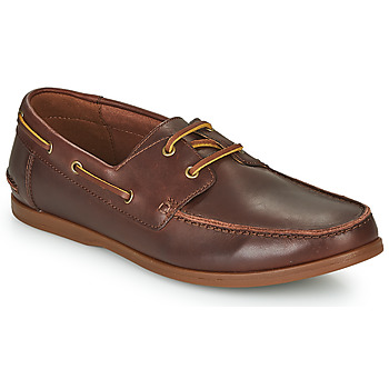Schoenen Heren Derby Clarks PICKWELL SAIL Bruin