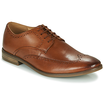 Schoenen Heren Derby Clarks STANFORD LIMIT Bruin
