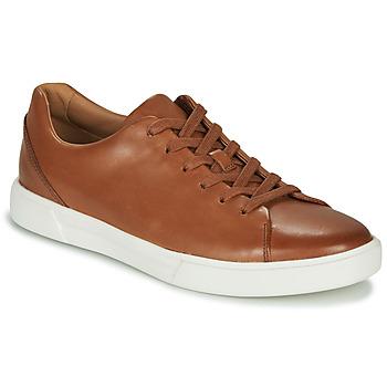 Schoenen Heren Lage sneakers Clarks UN COSTA LACE Tan