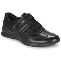 Schoenen Heren Lage sneakers Clarks UN TYNAMO TURN Zwart