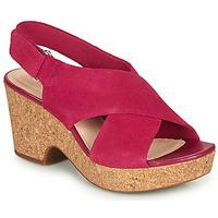 Schoenen Dames Sandalen / Open schoenen Clarks MARITSA LARA Roze