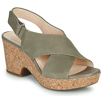 Schoenen Dames Sandalen / Open schoenen Clarks MARITSA LARA Taupe
