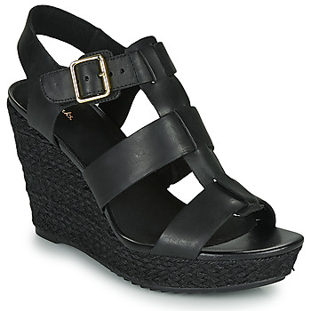 Schoenen Dames Sandalen / Open schoenen Clarks MARITSA95 GLAD Zwart