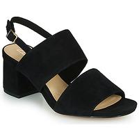 Schoenen Dames Sandalen / Open schoenen Clarks SHEER55 SLING Zwart