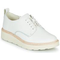 Schoenen Dames Derby Clarks TRACE WALK Wit