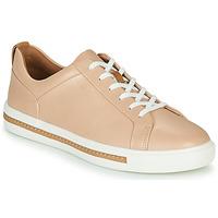Schoenen Dames Lage sneakers Clarks UN MAUI LACE Roze
