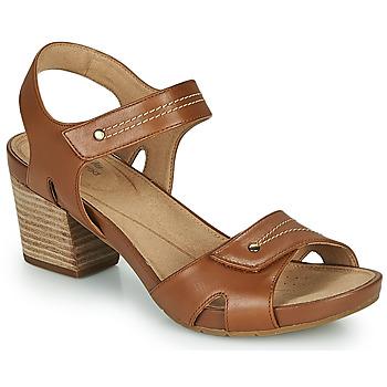 Schoenen Dames Sandalen / Open schoenen Clarks UN PALMA VIBE Camel