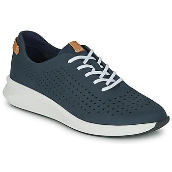 Schoenen Dames Lage sneakers Clarks UN RIO TIE Blauw