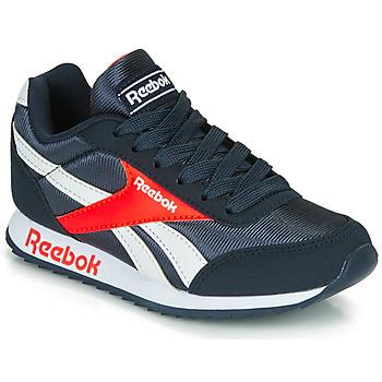 Schoenen Jongens Lage sneakers Reebok Classic REEBOK ROYAL CLJOG Marine / Rood