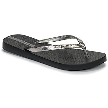 Schoenen Dames Teenslippers Ipanema GLAM II Zwart / Zilver