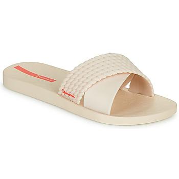 Schoenen Dames Leren slippers Ipanema STREET Beige