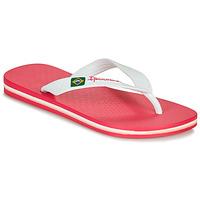 Schoenen Meisjes Teenslippers Ipanema CLAS BRASIL II Roze / Wit