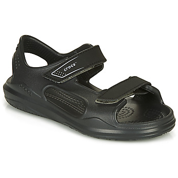 Schoenen Kinderen Sandalen / Open schoenen Crocs SWIFTWATER EXPEDITION SANDAL Zwart