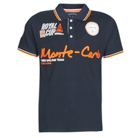 Textiel Heren Polo's korte mouwen Geographical Norway KOCEAN Marine