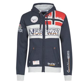 Textiel Heren Sweaters / Sweatshirts Geographical Norway FLYER Marine