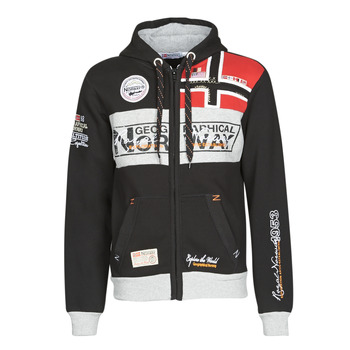 Textiel Heren Sweaters / Sweatshirts Geographical Norway FLYER Zwart