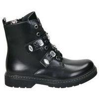 Schoenen Meisjes Laarzen Asso AG3702 Noir
