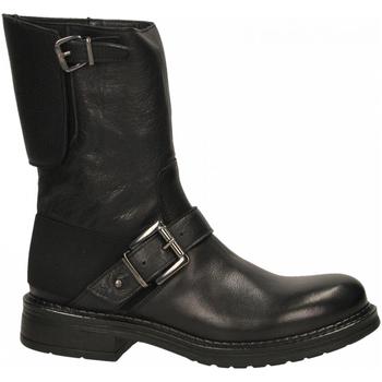 Schoenen Dames Enkellaarzen Emanuélle Vee TRONCHETTO PARACOLPI DIETRO COW ALDO black