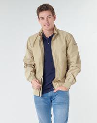 Textiel Heren Wind jackets Geox VINCIT BOMBER JACKET Beige