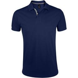 Textiel Heren Polo's korte mouwen Sols PORTLAND MODERN SPORT Azul