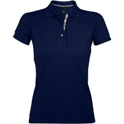 Textiel Dames Polo's korte mouwen Sols PORTLAND MODERN SPORT Azul