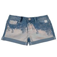 Textiel Meisjes Korte broeken / Bermuda's Desigual JORBA Blauw