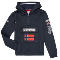 Textiel Jongens Sweaters / Sweatshirts Geographical Norway GYMCLASS Marine