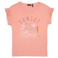 Textiel Meisjes T-shirts korte mouwen Ikks POLIAK Oranje