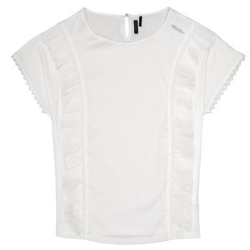Textiel Meisjes Tops / Blousjes Ikks CHLOE Wit