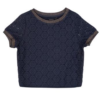 Textiel Meisjes Tops / Blousjes Ikks ASTRID Marine