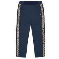 Textiel Meisjes Losse broeken / Harembroeken Ikks NATHAN Marine