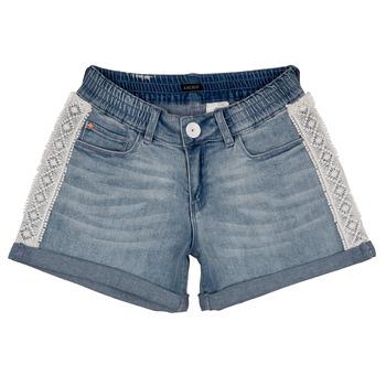 Textiel Meisjes Korte broeken / Bermuda's Ikks ISAHA Blauw