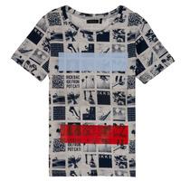 Textiel Jongens T-shirts korte mouwen Ikks YVES Beige