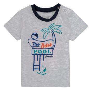 Textiel Jongens T-shirts korte mouwen Ikks LISIANA Grijs