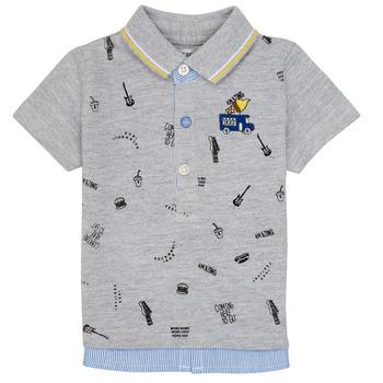 Textiel Jongens Polo's korte mouwen Ikks MAELYS Grijs