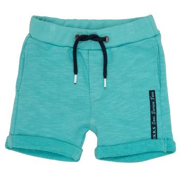 Textiel Jongens Korte broeken / Bermuda's Ikks POLEMAN Turquoize