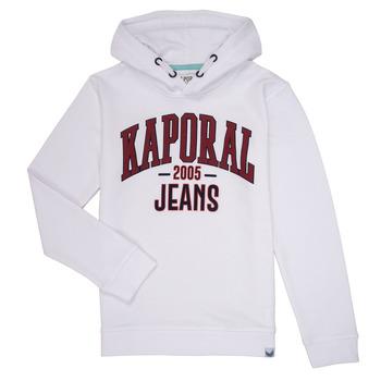 Textiel Jongens Sweaters / Sweatshirts Kaporal EDER Wit