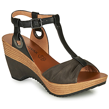 Schoenen Dames Sandalen / Open schoenen Chattawak JENNY Zwart