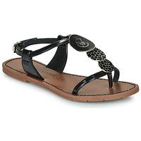 Schoenen Dames Sandalen / Open schoenen Chattawak PIPA Zwart