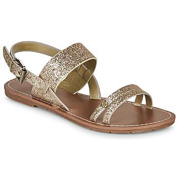 Schoenen Dames Sandalen / Open schoenen Chattawak MONIA Goud