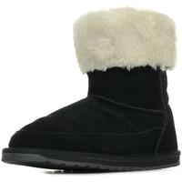 Schoenen Meisjes Snowboots EMU Ardle Zwart