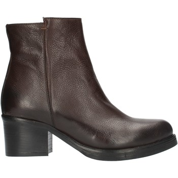Schoenen Dames Enkellaarzen Red Creatyve 5012 Brown