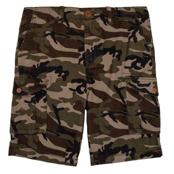 Textiel Jongens Korte broeken / Bermuda's Quiksilver CRUCIAL BATTLE Kaki