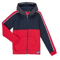 Textiel Jongens Sweaters / Sweatshirts Teddy Smith AMY Rood / Marine