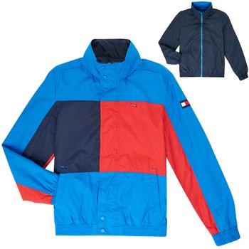 Textiel Jongens Wind jackets Tommy Hilfiger MARION Blauw