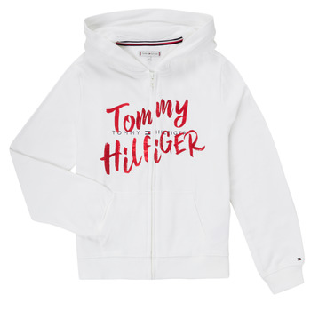 Textiel Meisjes Sweaters / Sweatshirts Tommy Hilfiger KG0KG05043 Wit