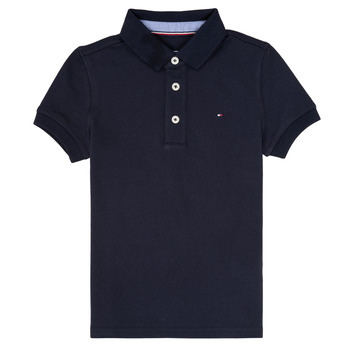 Textiel Jongens Polo's korte mouwen Tommy Hilfiger  Marine
