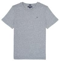 Textiel Jongens T-shirts korte mouwen Tommy Hilfiger KB0KB04140 Grijs